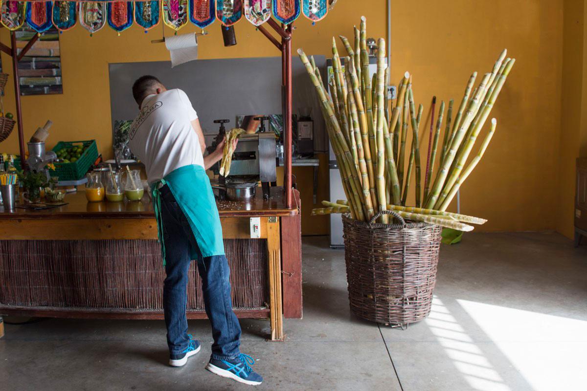 Guarapo del Mercado de Breña Alta, en Santa Cruz de La Palma.