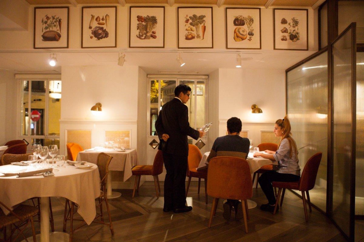 El nombre del restaurante lo dice todo: verduras de la huerta del Ebro.
