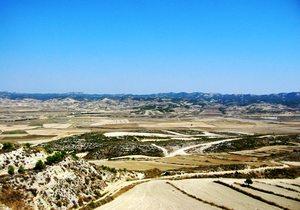 La Novia se rodó en el sur del desierto aragonés de Los Monégros.