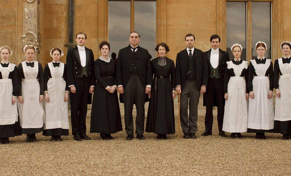El cuerpo de servicio de 'Downton Abbey', un patrón ya perdido.