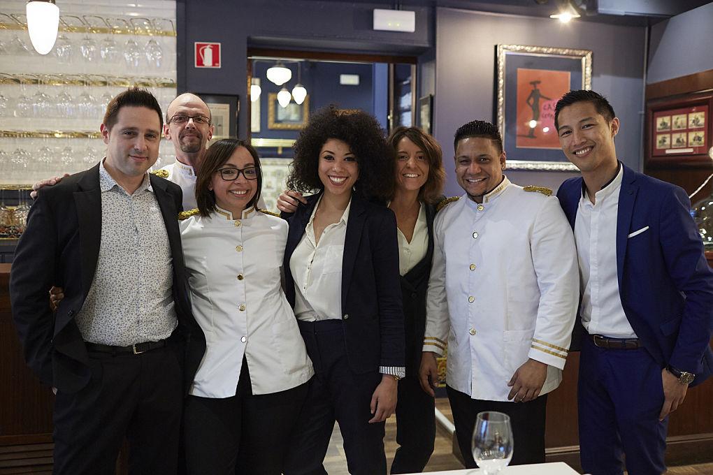 Ellos son el equipo de 'Casa Leopoldo'.