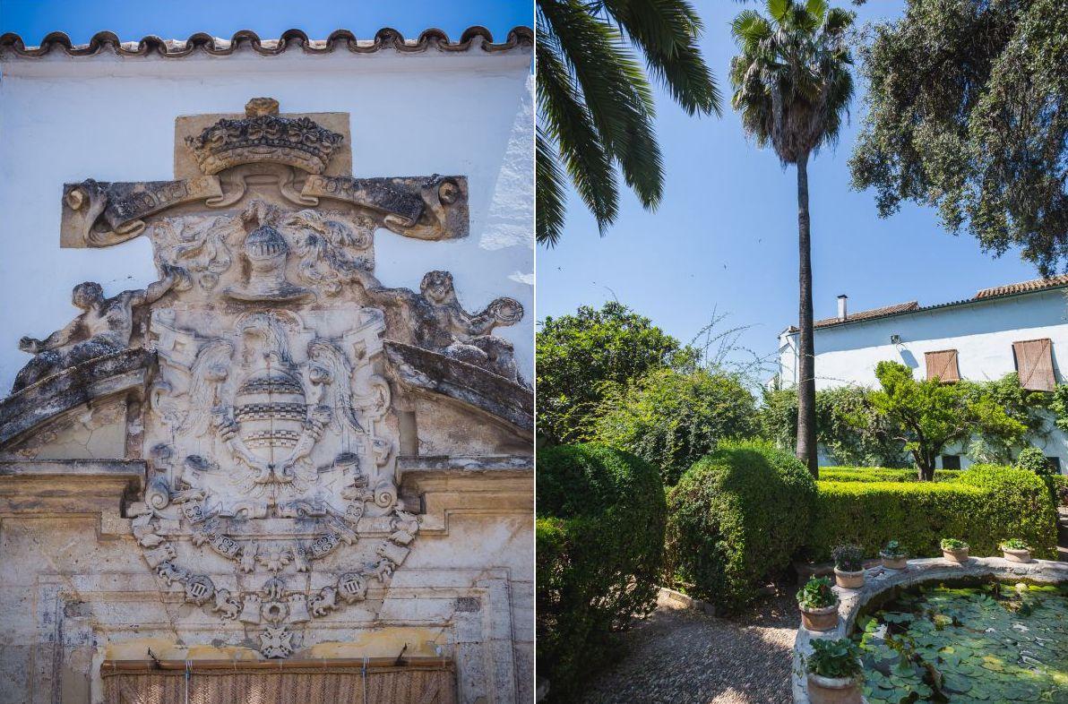 Tras la fachada renacentista del Palacio de Viana se esconde un universo vegetal y floral.