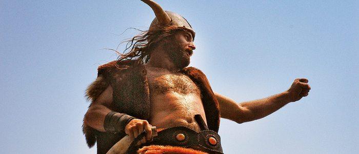 Personaje de la romería vikinga catoirense.