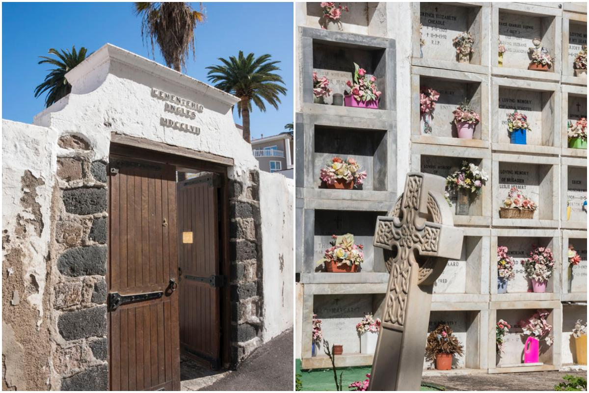 Los británicos eran lanzados al mar cuando morían hasta que llegó este cementerio.
