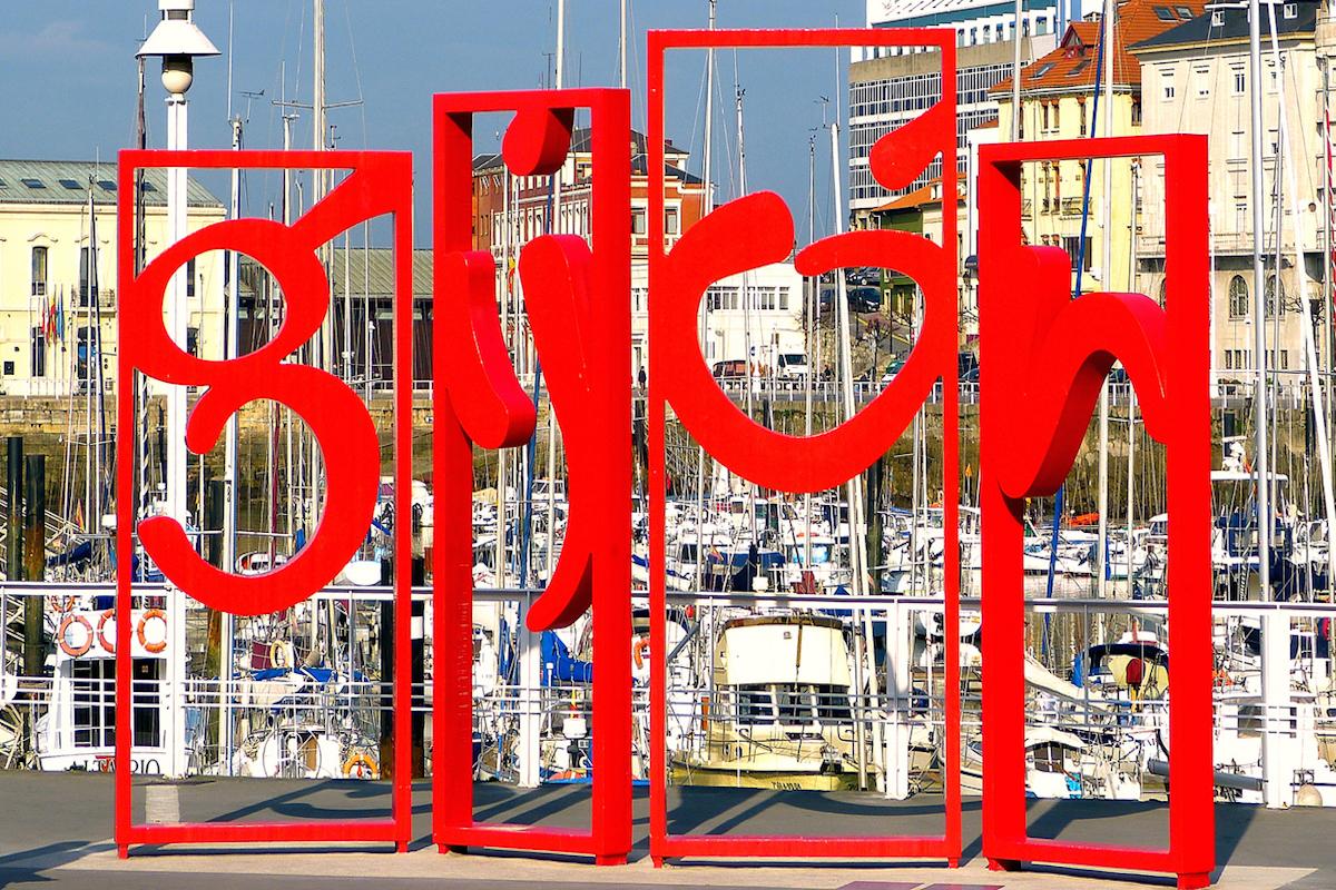Bienvenidos a Gijón.