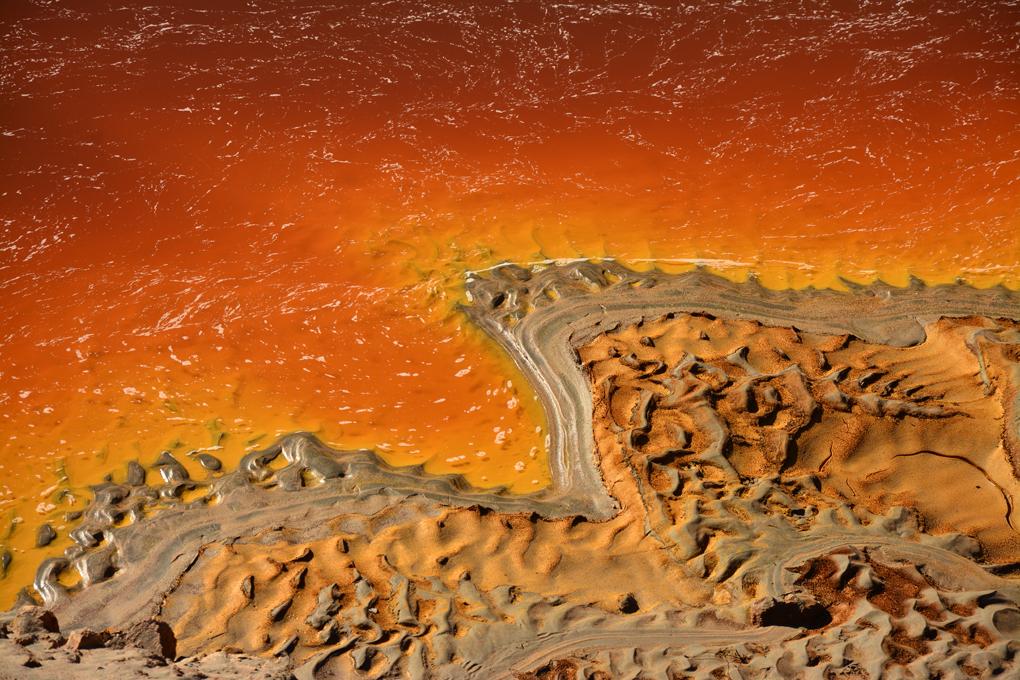 No es Marte, es el Río Tinto en Huelva. Foto: Shutterstock.