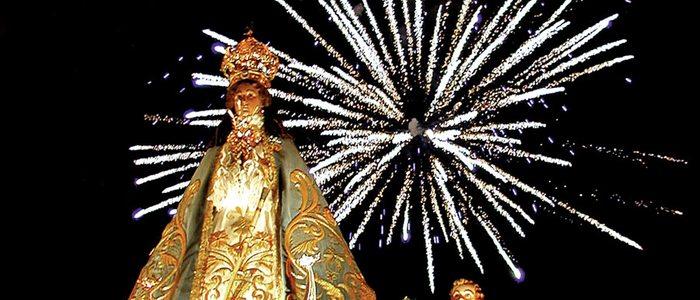 Fiesta de la Virgen del Castillo de Yecla.