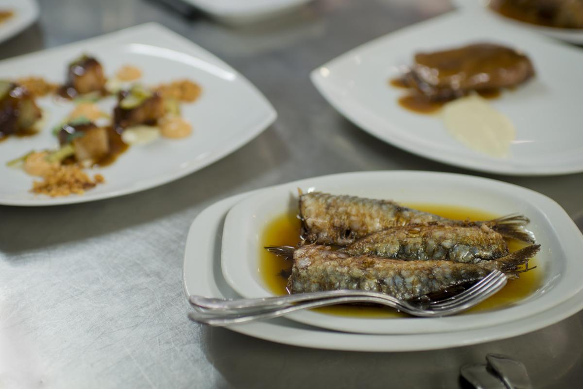 Platos caseros del restaurante 'Fonda Angeleta'.