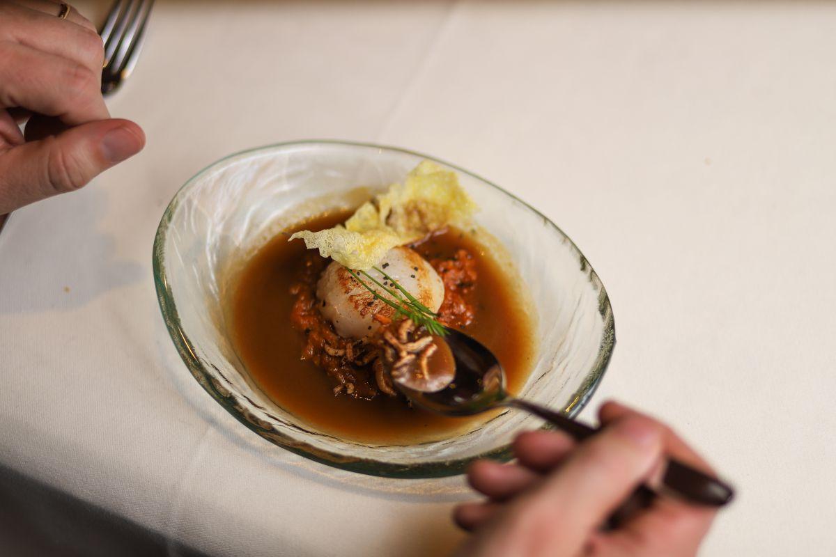 La cocina del 'Aziain' es perfecta para los que buscan platos más elaborados.