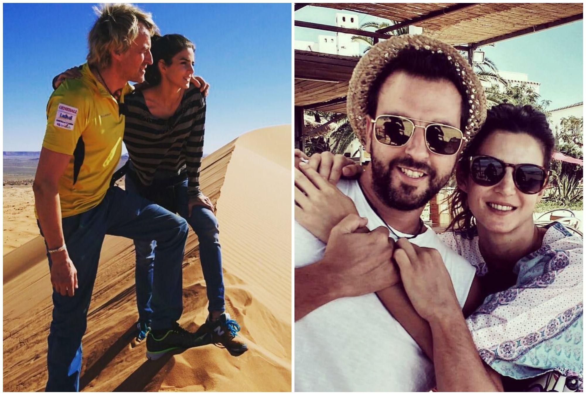 En las dunas del desierto Er Chegaga, en 'Planeta Calleja' y con un amigo en Málaga. Fotos: Facebook.