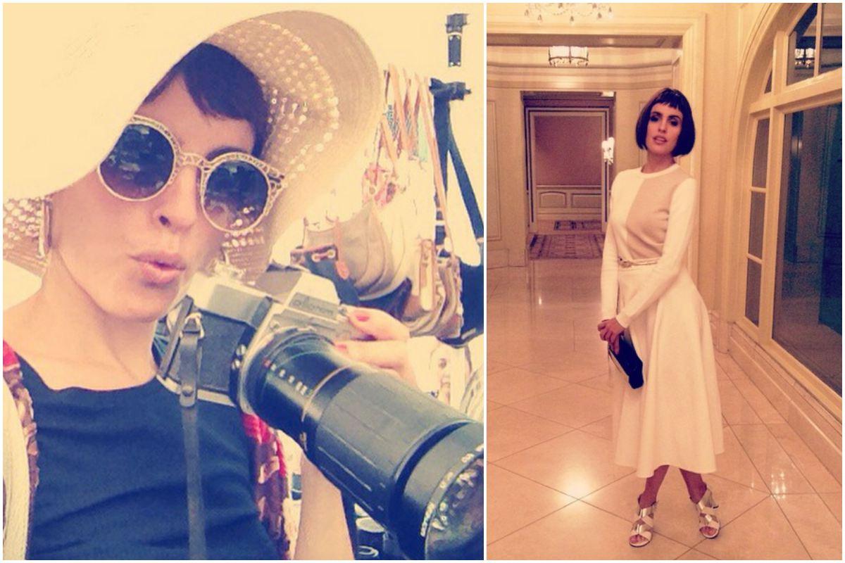 La actriz siempre aprovecha para hacer turismo durante los rodajes.
