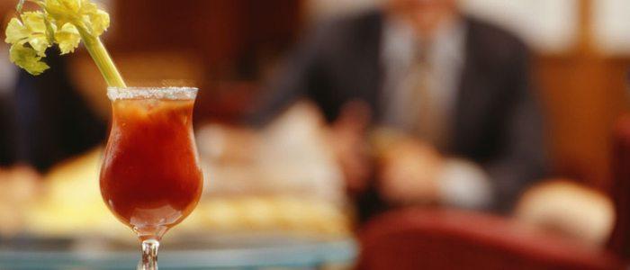 Un Bloody Mary es el perfecto acompañamiento para un brunch.
