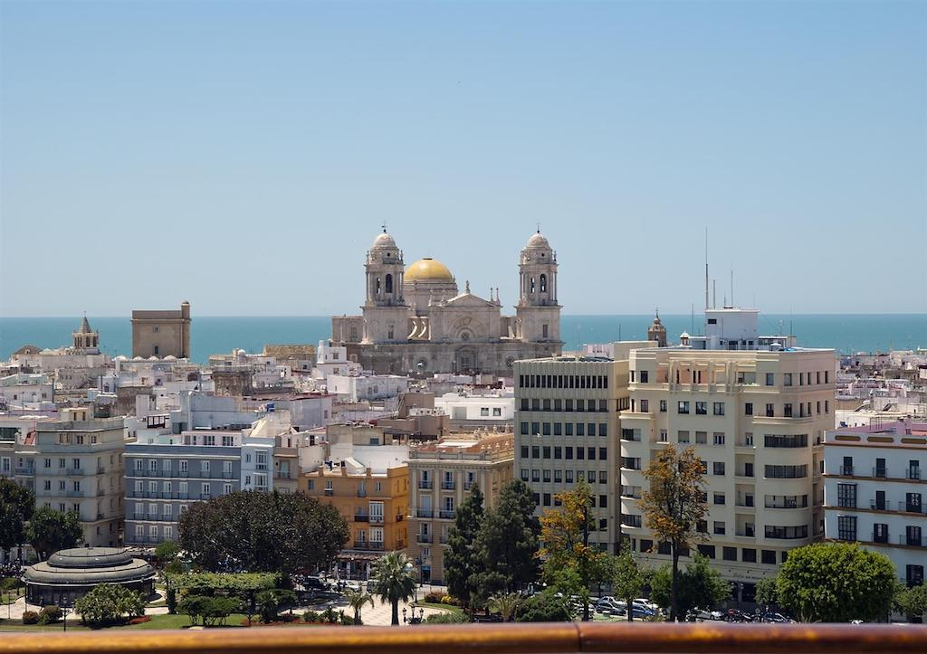 Cádiz desde un crucero. Foto: Manuel de la Varga.
