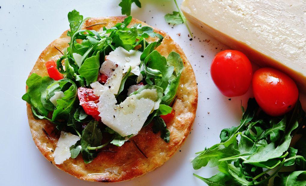 La pizza de La Sedici. Foto: La Sedici