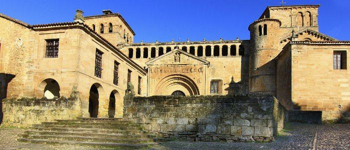 Colegiata de San Patricio, Santillana del Mar.