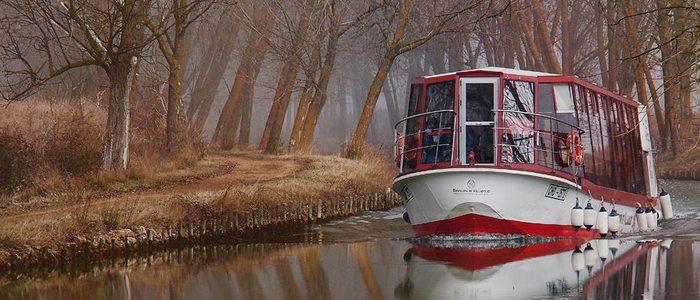 Recorrido por el Canal de Castilla. Foto: Alfredo Miguel Romero.