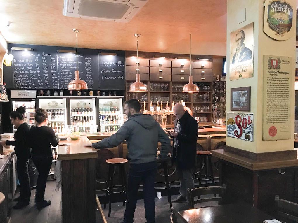 Oldenburg, cervecería Guiness de Madrid.