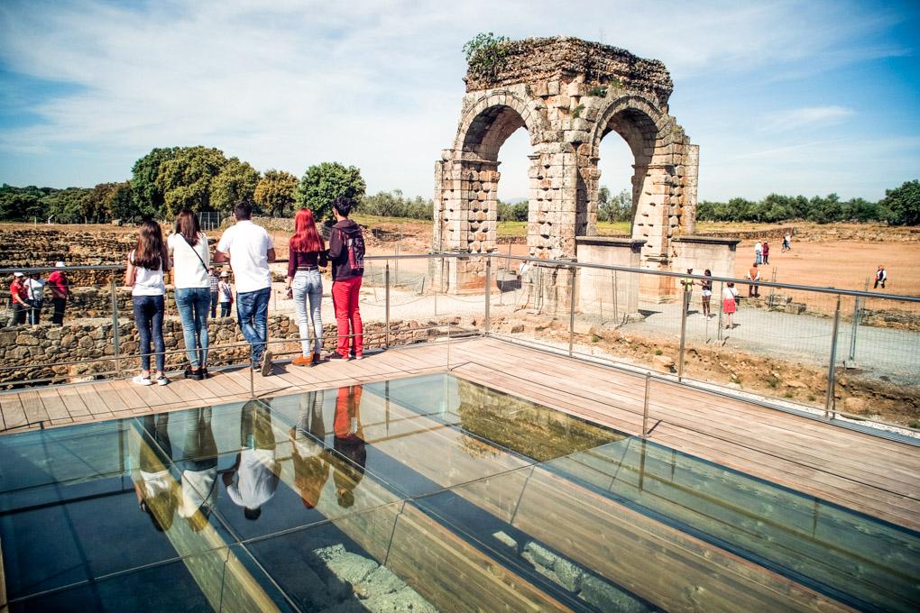Ruinas romanas de la ciudad de Cáparra. Imprescindibles.