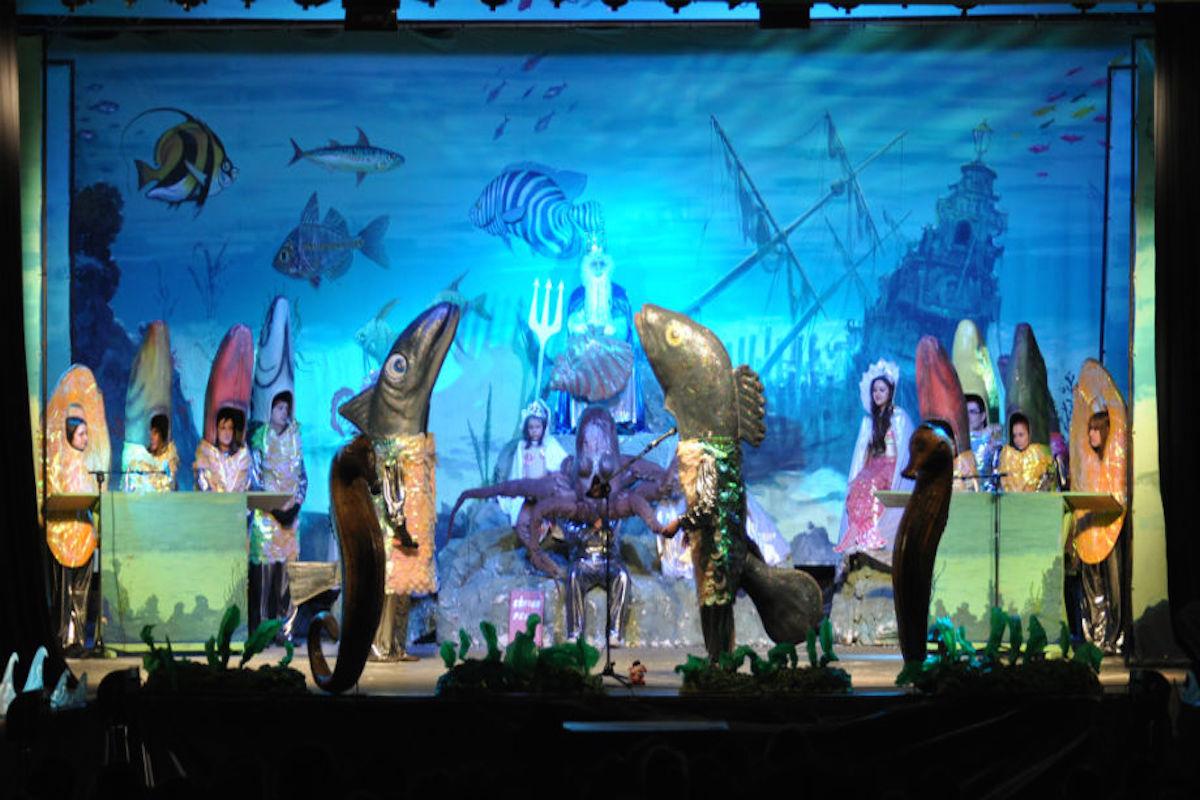 Juicio en el fondo del mar, carnavales de Santoña. Imagen cedida por: Ayuntamiento de Santoña.