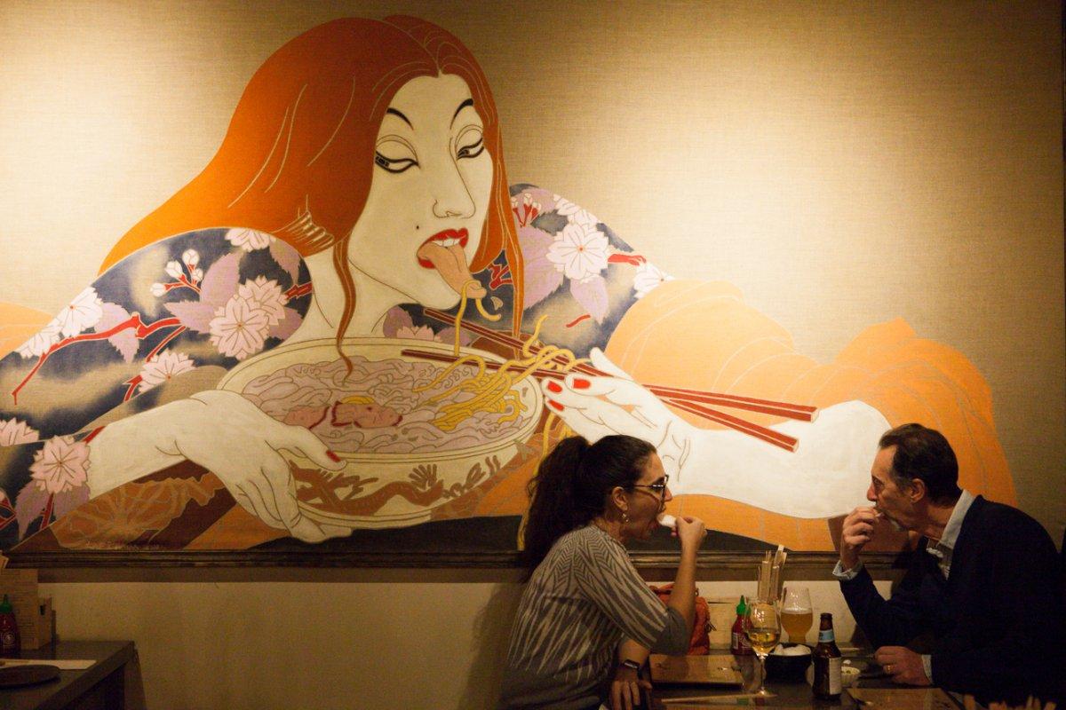 Restaurante Chuka Ramen: clientes