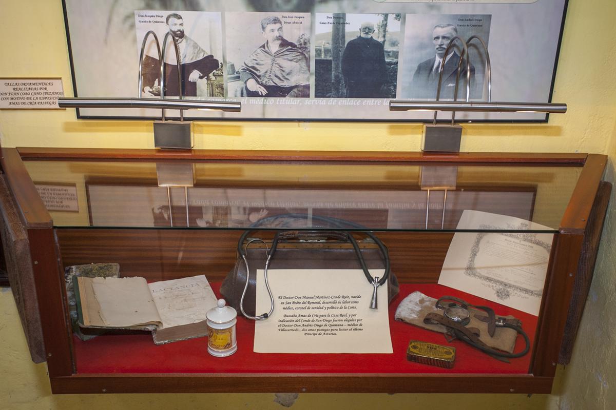 Museo de Amas de Cría. Selaya. Cantabria.  Los médicos rurales tuvieron un poder enorme al elegir al ama de cría para la Corte.