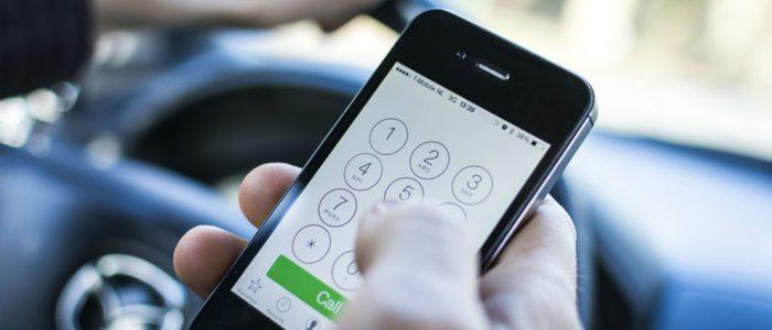 Campaña especial DGT sobre uso de móviles al volante.