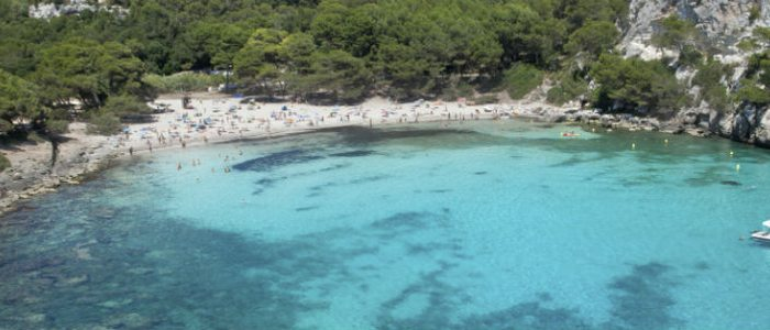 Playa Macarella, Menorca.