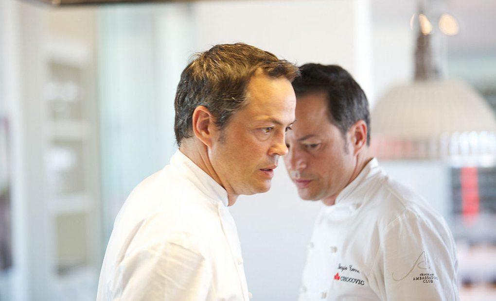 Sergio y Javier Torres dirigen la cocina, a cuatro manos, del restaurante Dos Cielos, además de colaborar con asiduidad en programas gastronómicos.