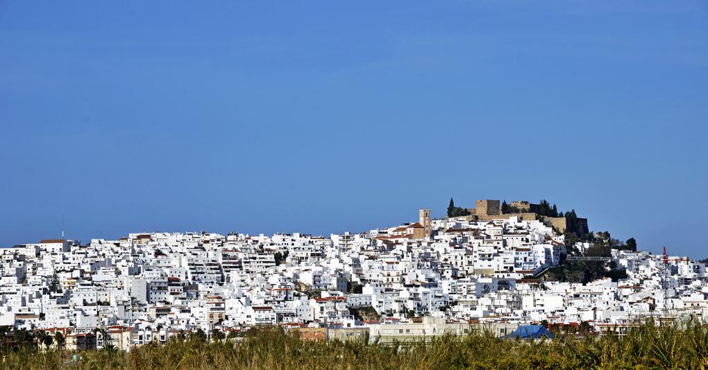 El bonito pueblo de Salobreña. Foto: Shutterstock.