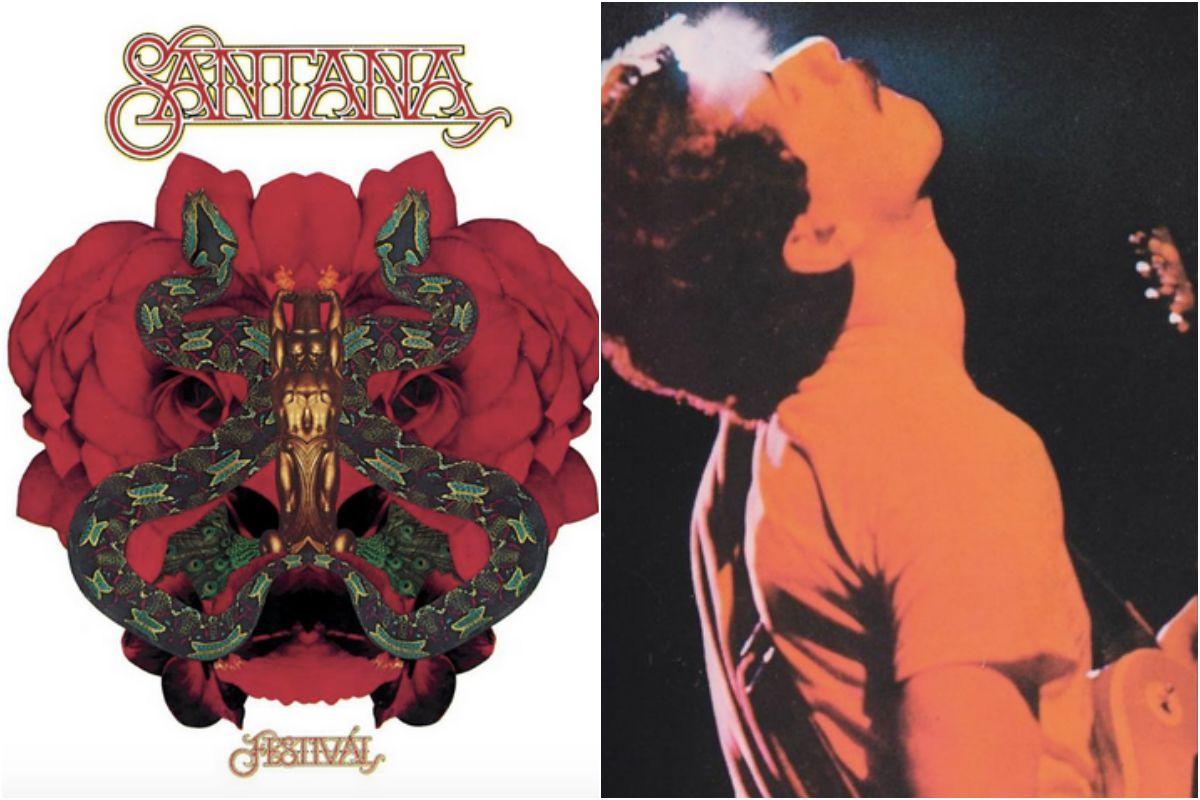 Carlos Santana y su orientalismo mágico. Fotos: Facebook.