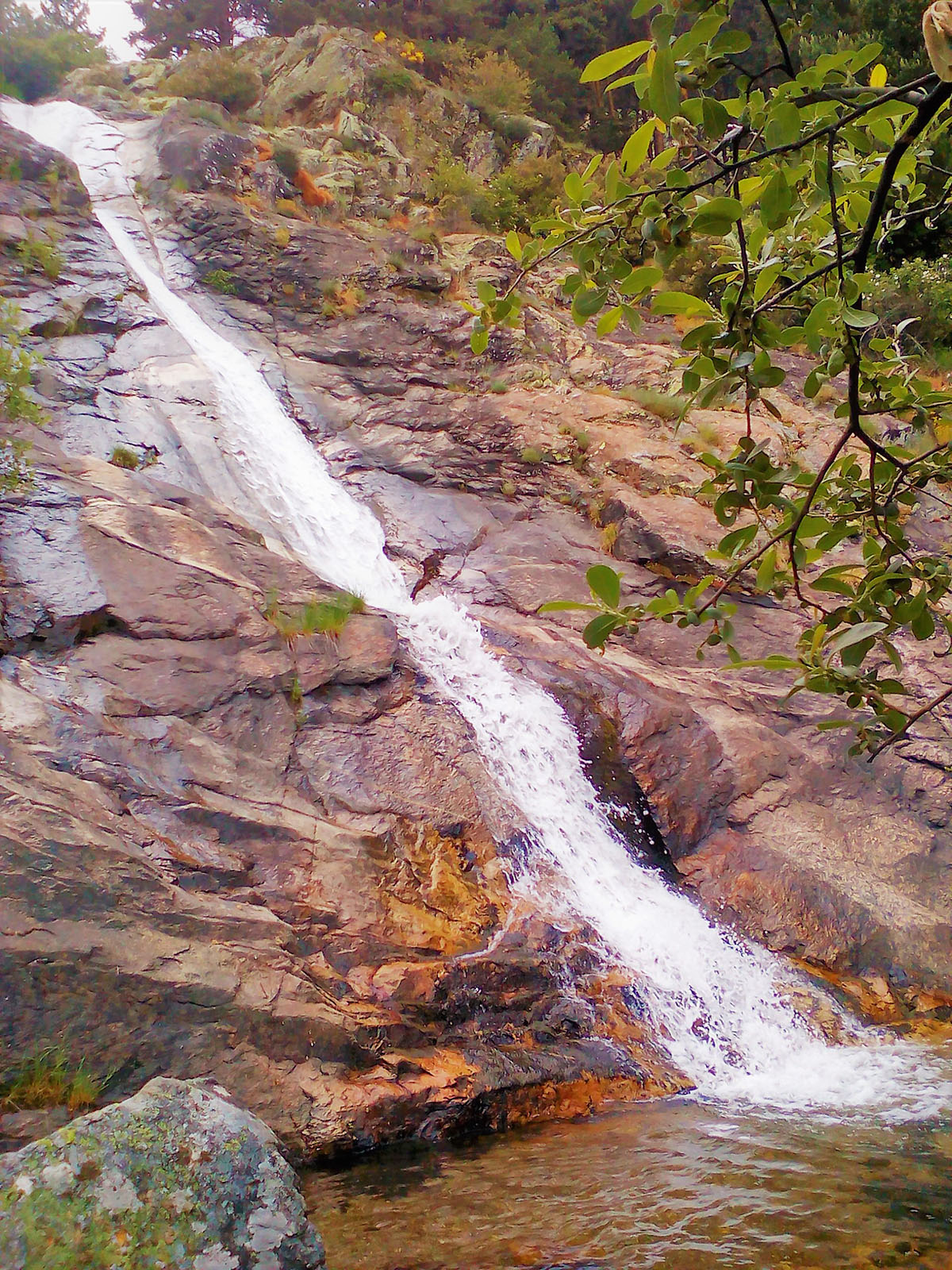 Cascadas de Sierra de Guadarrama: Chorrera de San Mamés