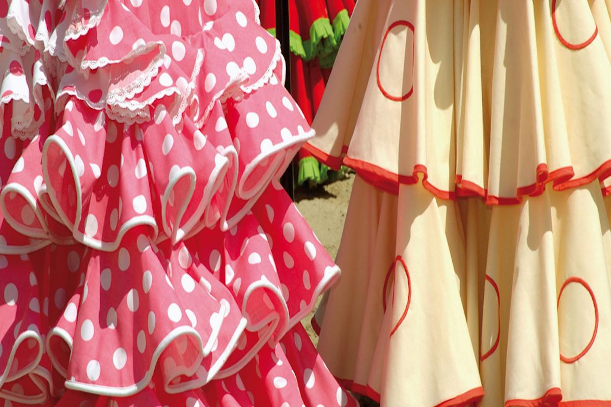 Vestidos de la romería de El Rocío