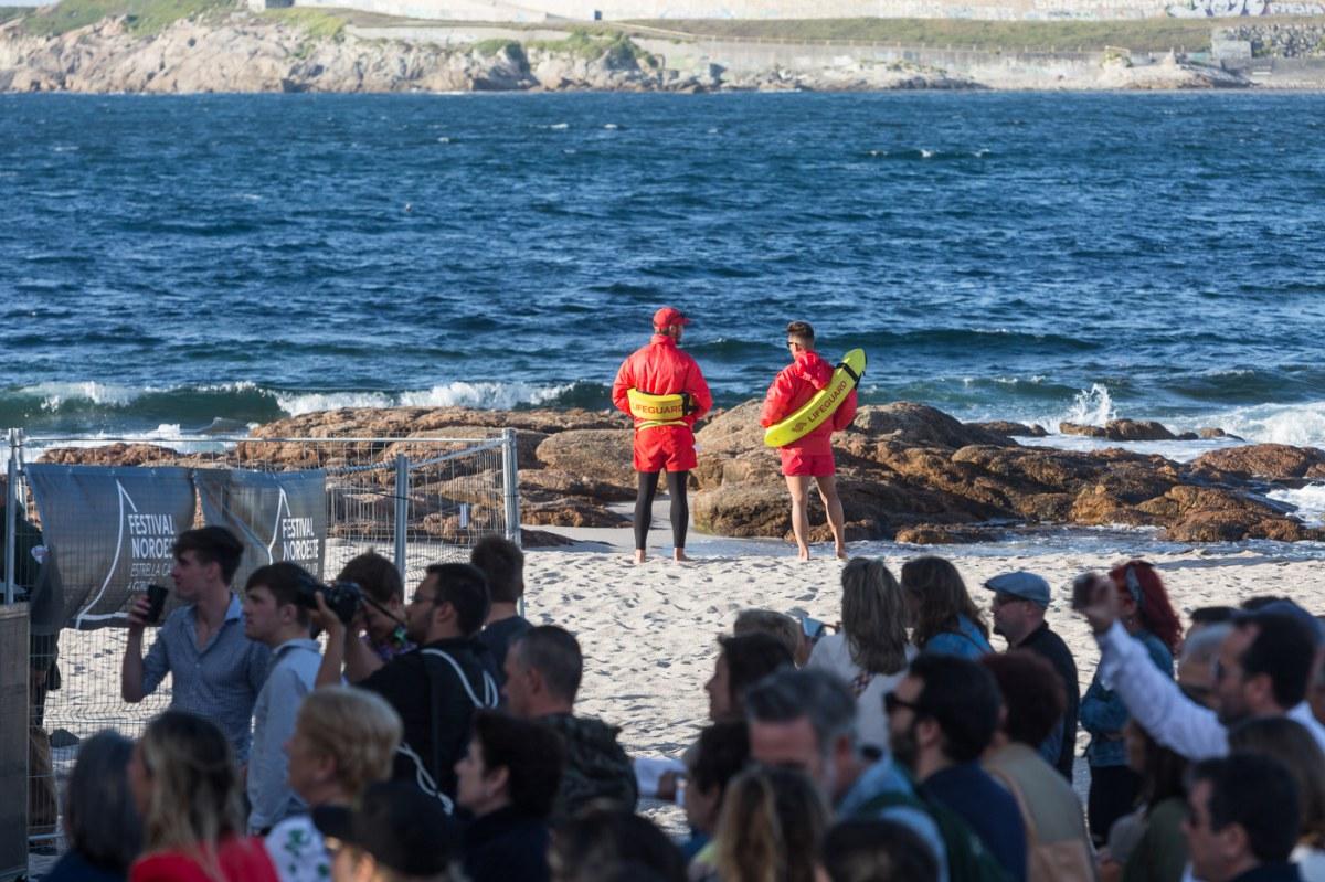 En la playa de Riazor nació el festival hace 32 años. Foto: Festival Noroeste.