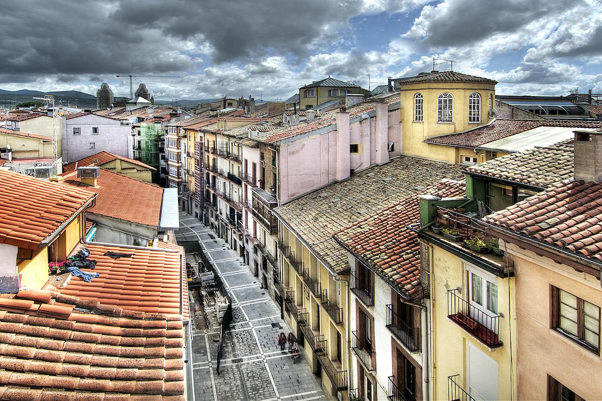 Calle Nueva. Foto: Ayuntamiento de Pamplona.