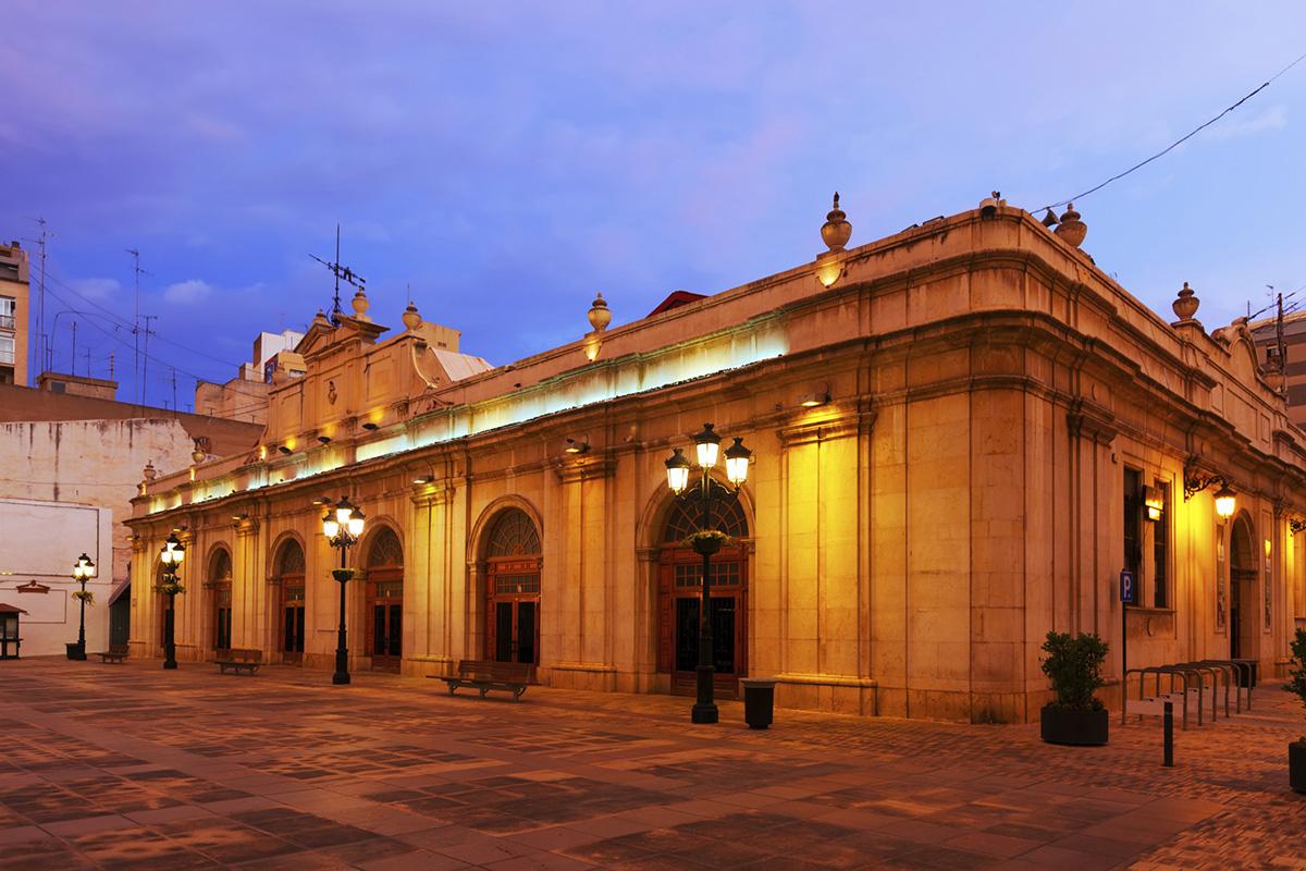 Mercado central de Castelló de la Plana.