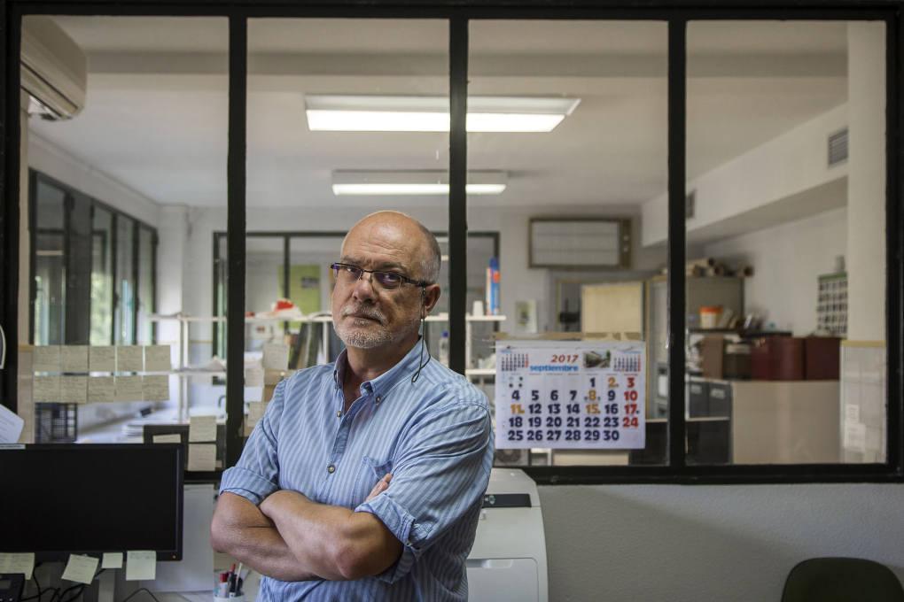José Couceiro, experto en el cultivo del pistacho del Centro de Investigación El Chaparrillo.