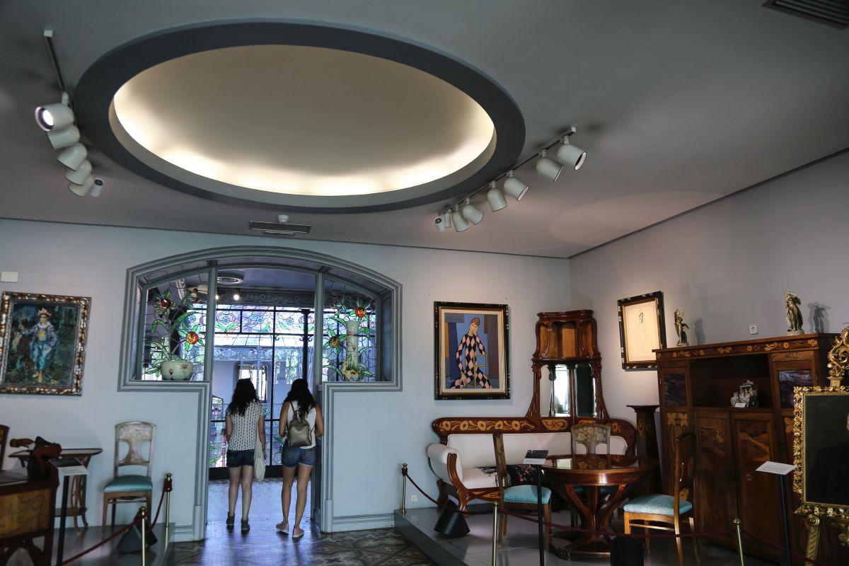 Casa Lis, un Museo de Art Nouveau y Art Déco y el único ejemplo de arquitectura modernista de la ciudad.