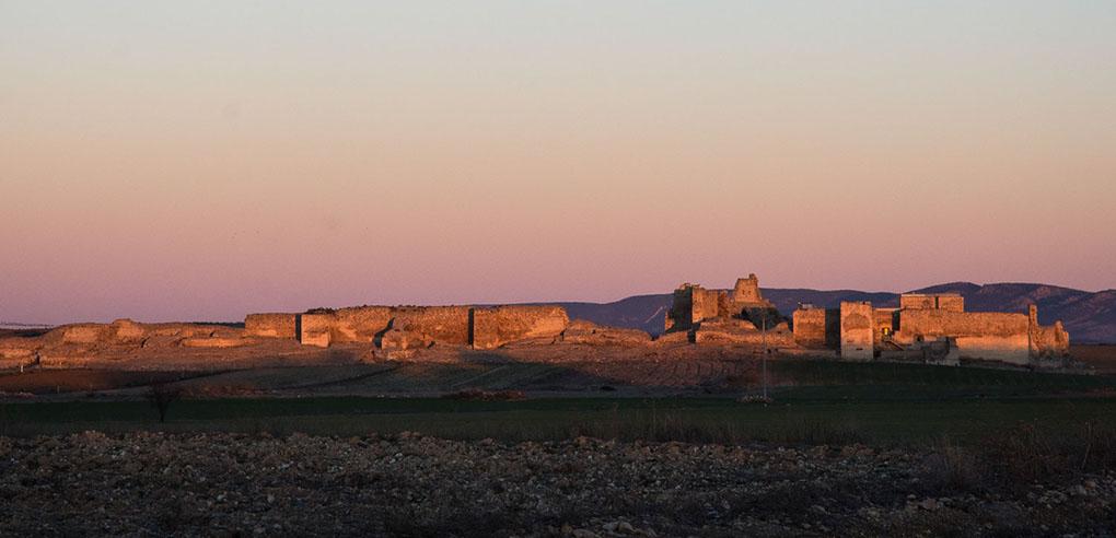 El castillo de Calatrava, donde posiblemente se originó el pan de Cruz.