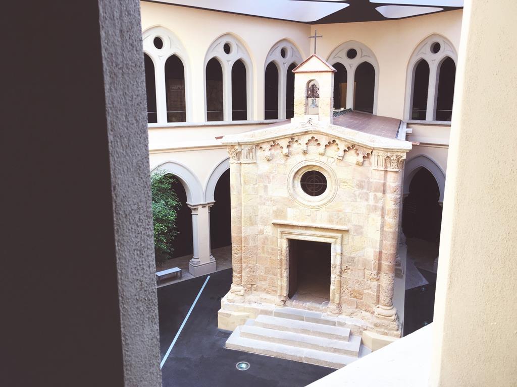 La capilla de San Pablo. Foto: C.P.