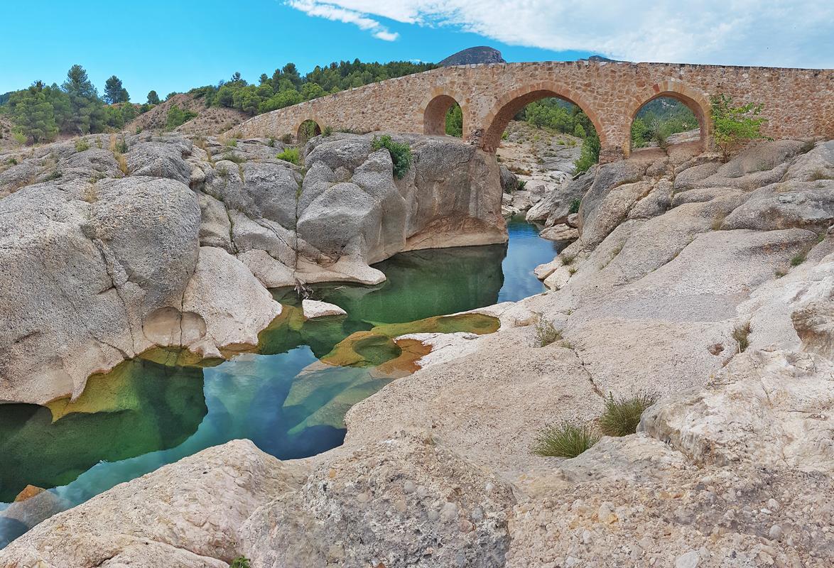 Las maravillosas Pozas del Río Bergantes.
