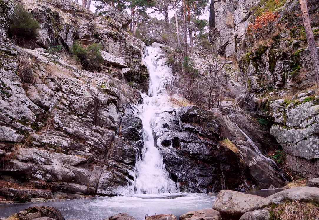 Cascadas de Sierra de Guadarrama: La Chorranca