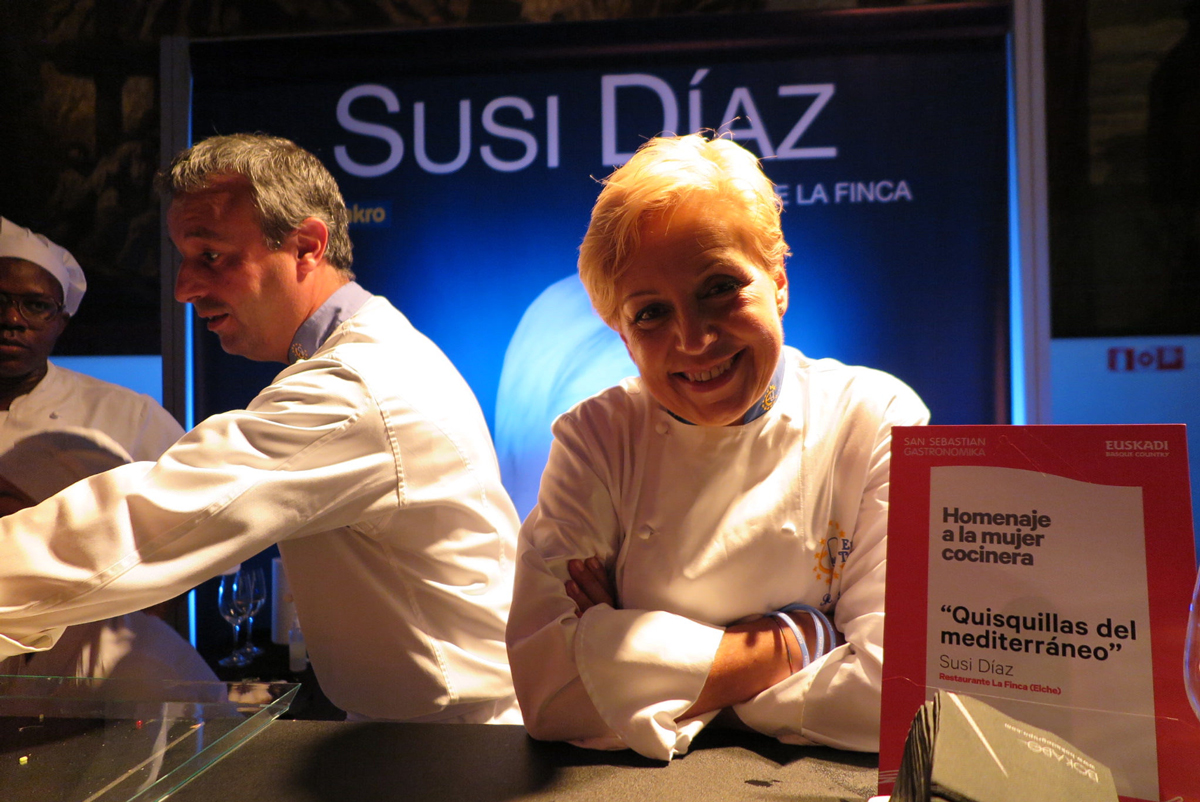 Susi Díaz, San Sebastián Gastronomika.