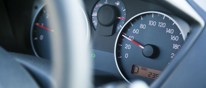 Los límites de velocidad varían en cada tipo de carretera.