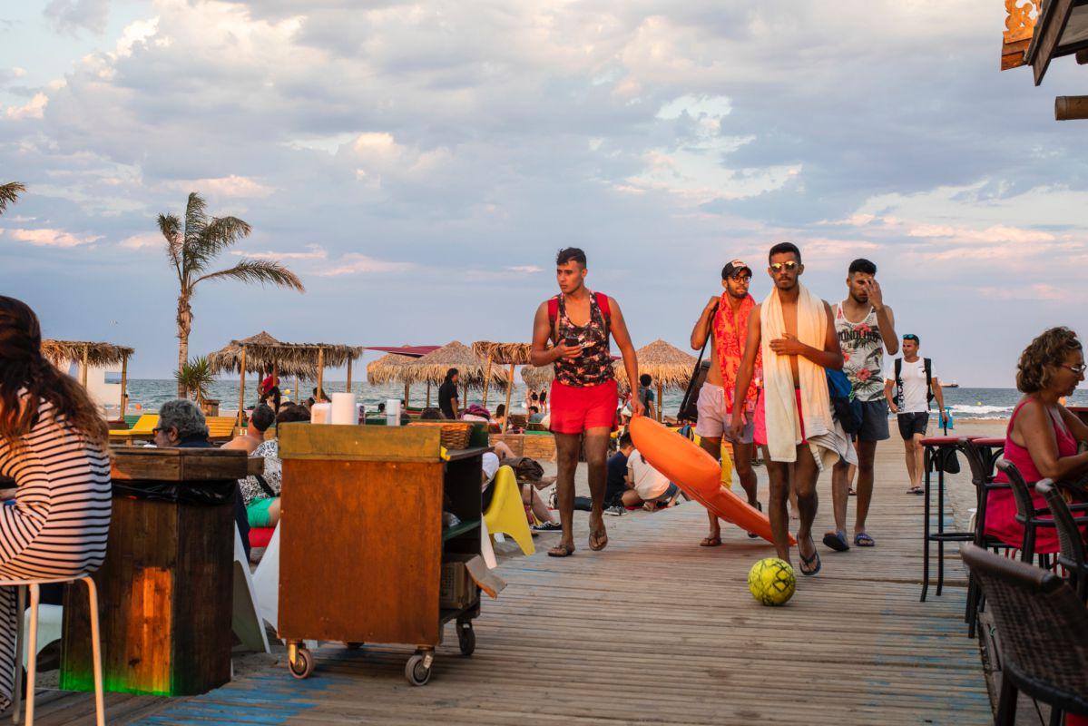 En la playa del Gurugú, en El Grao de Castellón, su apertura ha sido la gran novedad del verano.