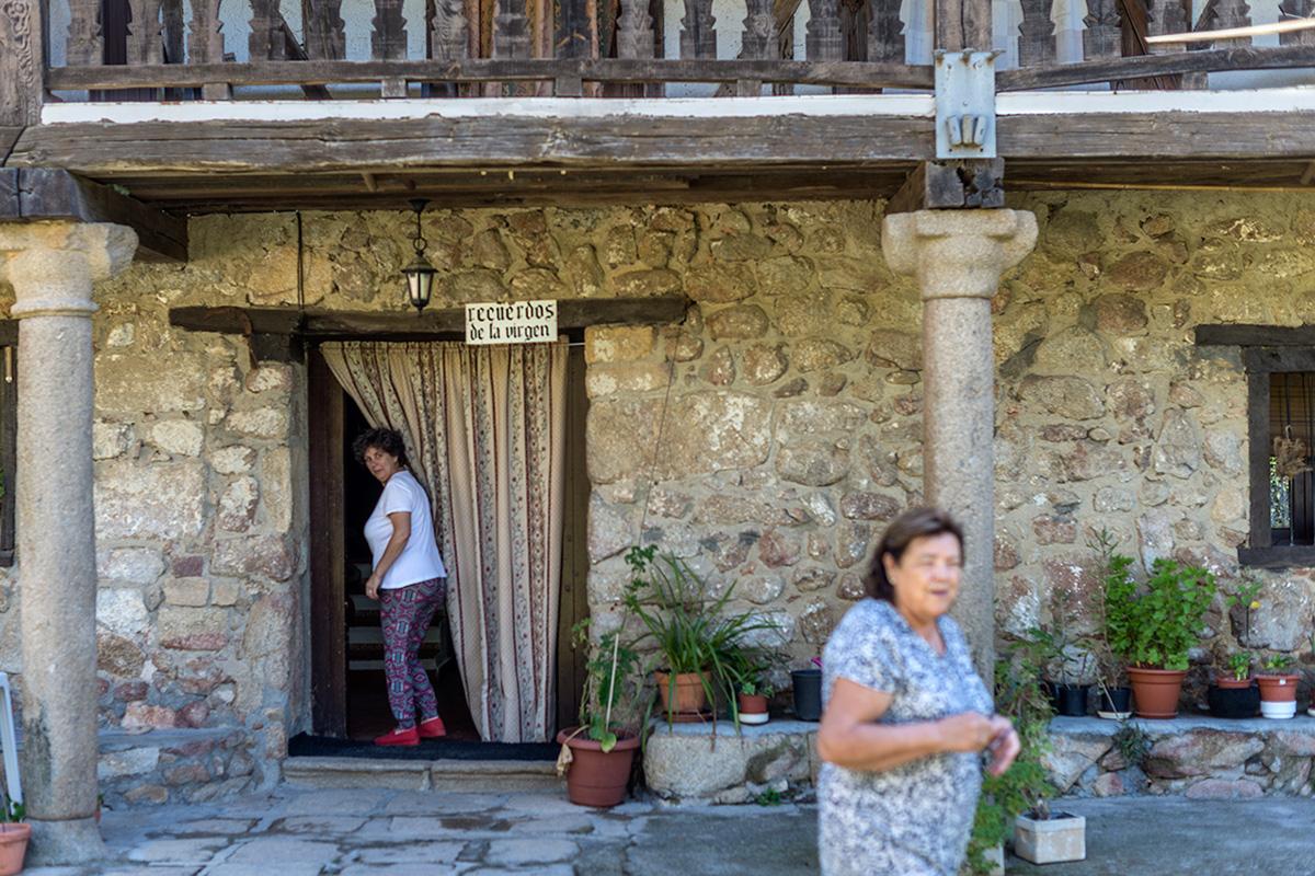 Vecinas de Candeleda, Ávila.