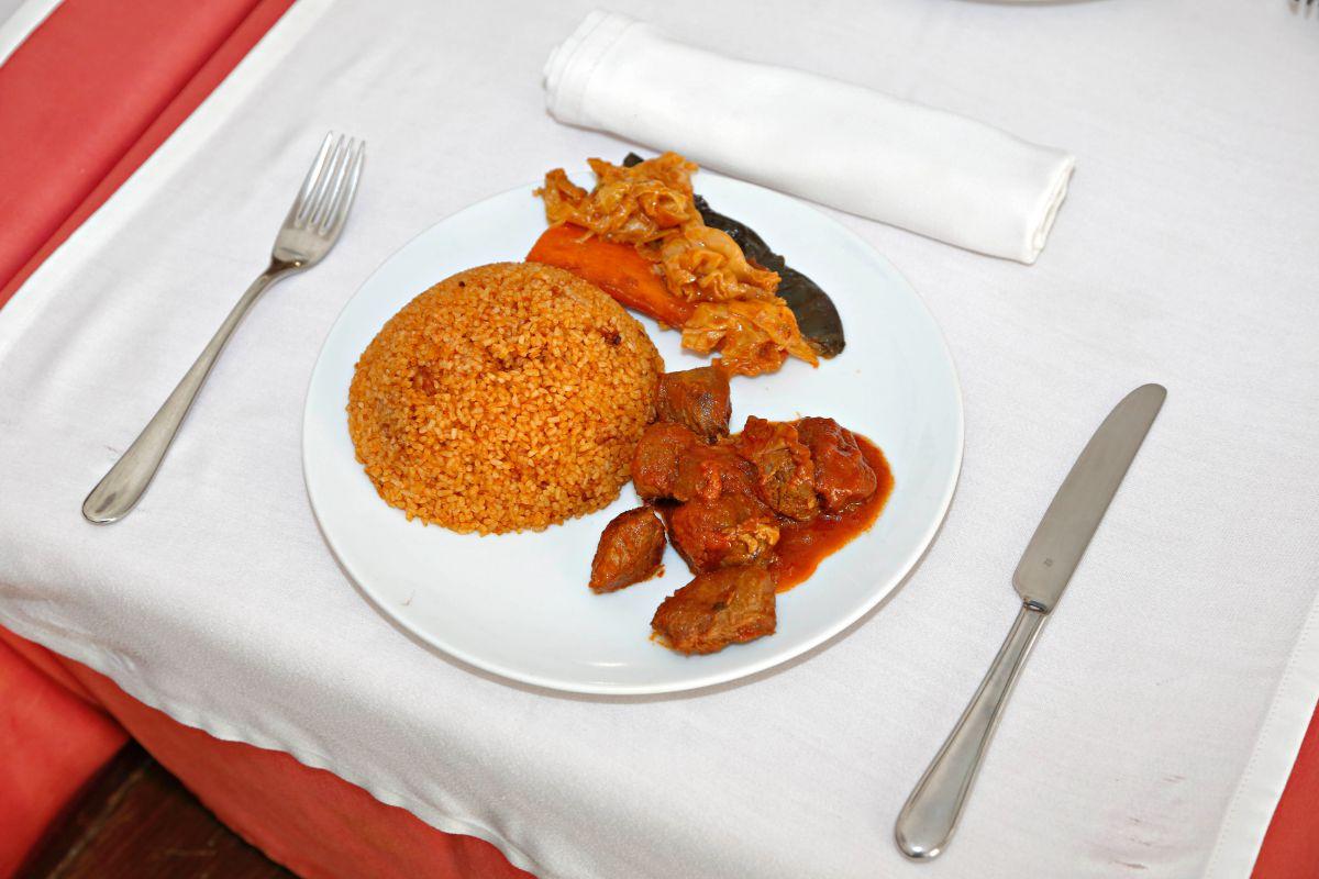Arroz nigeriano con Thiep Yapé.