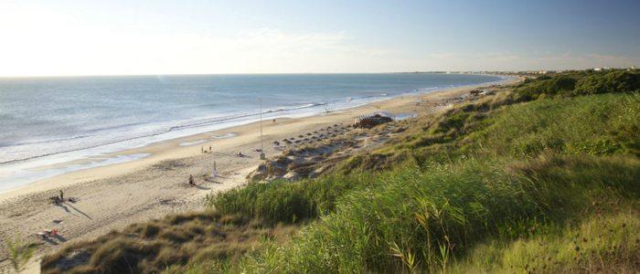Playa de Roche, Cádiz.