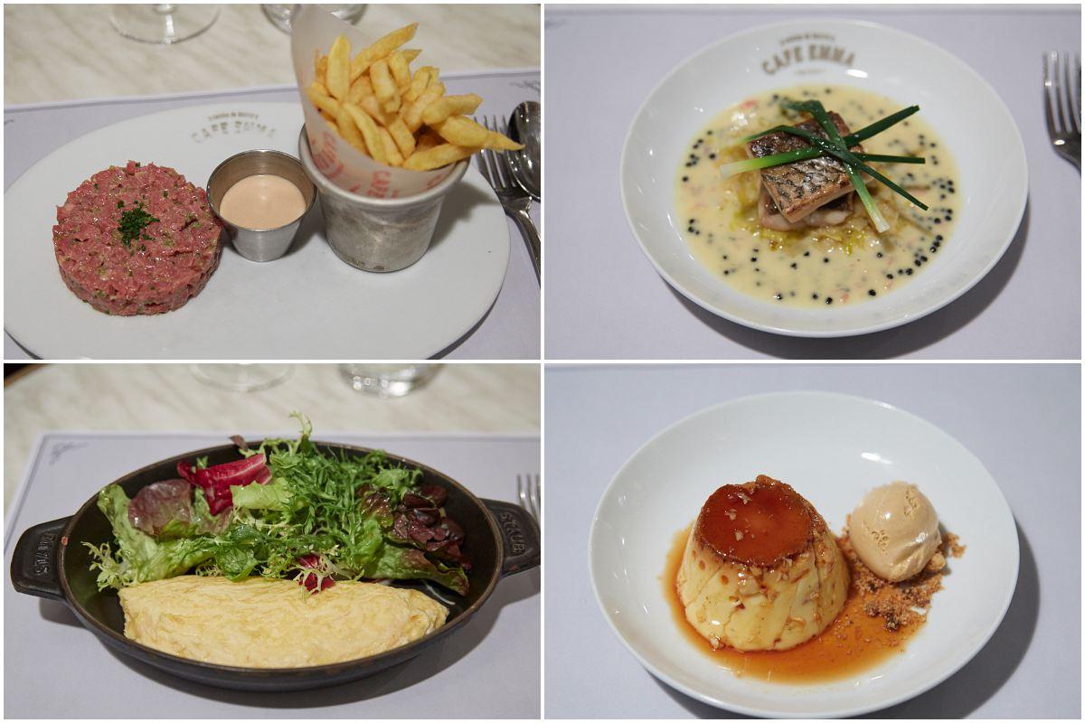 Aquí hay platos para todos los gustos.