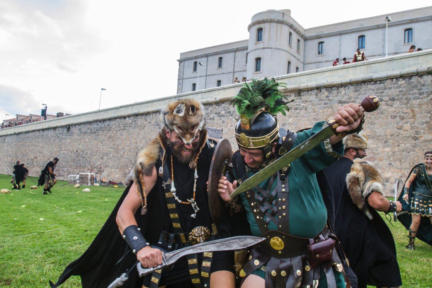 Carthagineses y romanos: gran batalla