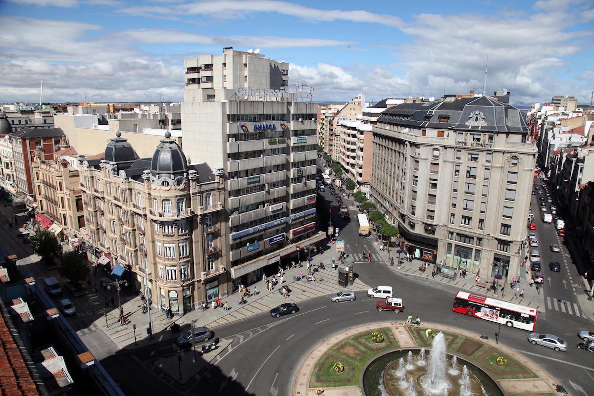 Zona Centro. Foto: Ayuntamiento de León.
